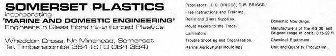 Somerset Plastics letterhead
